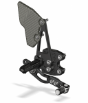 Attack Performance - ATTACK PERFORMANCE  REAR SET KIT, GSXR600/750 06-10 , W/SHIFT LEVER, BLACK - Image 3