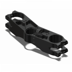 Attack Performance - ATTACK PERFORMANCE BOTTOM CLAMP, GP, GSXR750 00-05/1000 00-06, BLACK - Image 2