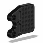 Hand & Foot Controls - Rearsets - Attack Performance - ATTACK PERFORMANCE LT. BRACKET, ADJ., SUZ GSXR 1000, 09-16, BLACK