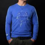 4SR - 4SR SWEATSHIRT LIFE BLUE - Image 1
