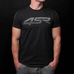 4SR - T-Shirts - 4SR - 4SR T-SHIRT 3D BLACK