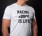 4SR - 4SR T-SHIRT LIFE WHITE - Image 2