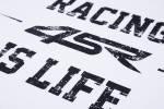 4SR - 4SR T-SHIRT LIFE WHITE - Image 3