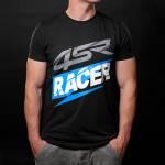 4SR - 4SR T-SHIRT RACER BLACK - Image 1