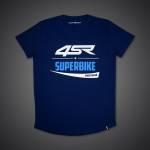 4SR - 4SR T-SHIRT SUPERBIKE BLUE - Image 4