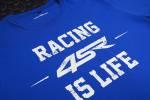 4SR - 4SRT-SHIRT LIFE BLUE - Image 3