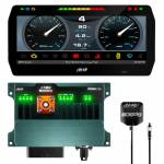 "Dash & Data Loggers - Data Loggers - AiM Sports - AiM PDM 8 with 10"" screen 2m GPS"