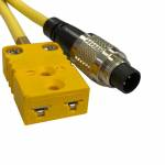 AiM Sports - AiM Patch cable, thermocouple, 1.5m 712 3-pin/m to K-style/f - Image 3