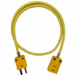 AiM Sports - AiM Patch cable, thermocouple, 1.5m K-style/m to K-style/f - Image 1