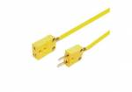 AiM Sports - AiM Patch cable, thermocouple, 1.5m K-style/m to K-style/f - Image 2
