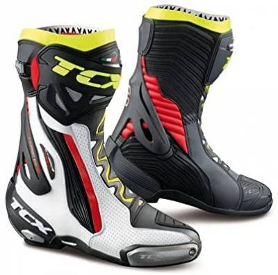 2021 COLLECTION - ROAD RACING - TCX - TCX RT-RACE PRO AIR WHITE/RED/YELLOW FLOU EU40/US7