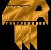 Accossato - Thumb Brake Master Cylinder Accossato with Bent Lever and bracket