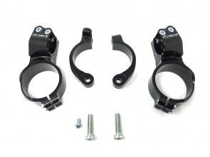 Extreme Components - Extreme Components Clipons 40mm offset, 10mm raise- 55mm S1000RR 20-21