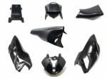 Extreme Components - Black Fiber - Extreme Components - Extreme Components black fiber complete fairings BMW S1000RR 2015-19