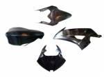 Extreme Components - Black Fiber - Extreme Components - Extreme Components black fiber complete fairings Yamaha R6 2008-16
