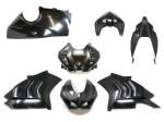 Extreme Components - Black Fiber - Extreme Components - Extreme Components black fiber complete fairings Ducati V4R