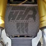 Crash Protection & Safety - Radiator & Oil Cooler Guards - Cox Radiator Guards -  Cox Racing Radiator Guard Titanium Yamaha R6 2017-21