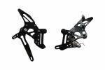 Accossato - Accossato Adjustable Racing Street Rearsets Made in Aluminum - Image 1