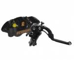 Accossato Racing Brake Kit FrontBrake Master Cylinder 16x18mm CY045 + Forged Monoblock 108mmCalipers PZ004