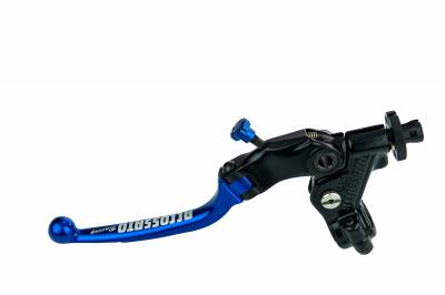Brakes - Spares, Hardware, Misc - Accossato - Accossato Cable Full Clutch With Folding Colourful Lever (nut+lever) provided with switch setup (switch not included)