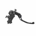 Accossato - Accossato Radial Front Brake Master Cylinder Forged Anodized Black14 x 19mmw/ Folding Lever - Image 1