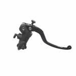 Accossato - Accossato Radial Front Brake Master Cylinder Forged Anodized Black 15 x 20mm  w/ Fixed Lever - Image 1