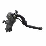 Accossato - Accossato Radial Brake Master Cylinder PRS 16 x 17-18-19 With Black Anodyzed Body and colorful Revolution Lever (nut+insert) - Image 1