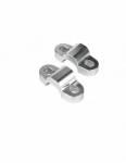 Accossato Risers kit + 20 mm and transformation kit for handlebars 22mm - 28.5mm
