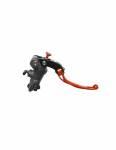 Accossato - Accossato Radial Brake Master PRS 17mm x 17-18-19 Forged Anodized Black w/ Folding Lever - Image 2