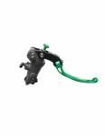 Accossato - Accossato Radial Brake Master PRS 17mm x 17-18-19 Forged Anodized Black w/ Folding Lever - Image 4