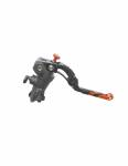 Accossato - Accossato Radial Brake Master Cylinder PRS 16 x 17-18-19 With Black Anodyzed Body and colorful Revolution Lever (nut+insert) - Image 3