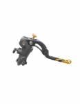 Accossato - Accossato Radial Brake Master Cylinder PRS 16 x 17-18-19 With Black Anodyzed Body and colorful Revolution Lever (nut+insert) - Image 5