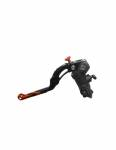 Accossato - Accossato Radial Clutch Master Cylinder 16 x 16 With Black Anodyzed Body and colorful Revolution Lever (nut+insert) - Image 2