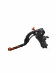 Accossato - Accossato Radial Clutch Master Cylinder 16 x 18 With Black Anodyzed Body and colorful Revolution Lever (nut+insert) - Image 2