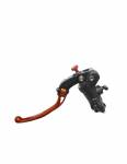 Accossato - Accossato Radial Clutch Master Cylinder PRS 17 x 15-16-17 With black anodyzed body and colorful folding lever (nut + lever) - Image 2