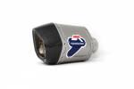 Termignoni - Termignoni SO-04 Cylindrical Muffler Titanium Sleeve with Carbon End Cap Universal - Image 2