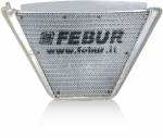 FEBUR ADDITIONAL WATER RADIATOR (WITH SILICON HOSES) GSX-R 600/ 750 2011-2018