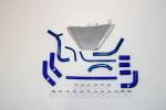 FEBUR ADDITIONAL WATER RADIATOR (WITH SILICON HOSES) ZX-10R 2011-2015