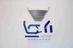 Engine Performance   - Radiators - Febur - FEBUR LOWER ADDITIONAL WATER RADIATOR (WITH SILICON HOSES, ONLY WITH SBK EXHAUST) CBR 1000 RR 2008-2016