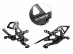 Extreme Components - Extreme Components Rearsets RSV4 09-16 GP shift black with alum heel