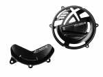 Crash Protection & Safety - Engine Case Covers - Extreme Components - Extreme Components Engine protector set 2pc CNC Ducati PANIGALE V4R