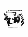 Accossato - Accossato Adjustable Racing Street Rearsets Made in Aluminum Ducati 1098 2009/1198 2009-2011/848 2008 - Image 2