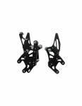 Accossato - Accossato Adjustable Racing Street Rearsets Made in AluminumHonda CBR1000RR-R2008-2011 - Image 2