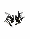 Accossato - Accossato Adjustable Racing Street Rearsets Made in Aluminum - Image 2