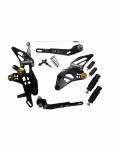 Accossato - Accossato Adjustable Racing Street Rearsets Made in AluminumSuzuki GSX-R 10002009-2016 - Image 2