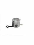 Accossato - Accossato CNC-worked brake fluid reservoir 25 cm3 with horizontal oil spill - straight bracket included - Image 4