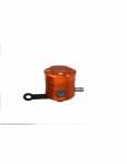 Accossato - Accossato CNC-worked brake fluid reservoir 25 cm3 with horizontal oil spill - straight bracket included - Image 5