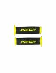 Accossato - Pair of Racing Grips In Thermoplastic Rubber Nere With Colourful Accossato Sign - Image 2