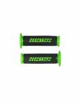 Accossato - Pair of Racing Grips In Thermoplastic Rubber Nere With Colourful Accossato Sign - Image 4