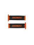 Accossato - Pair of Racing Grips In Thermoplastic Rubber Nere With Colourful Accossato Sign - Image 5